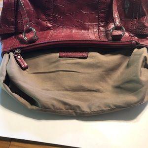 Relic Bags - Relic faux crocodile red purse